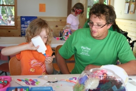 Campers can lead FLEX activities and share their special crafting skills.